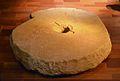 Roda de molí hidràulic, segle X, museu d'Història de València.JPG