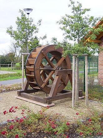 Rodgau - Waterwheel in Weiskirchen