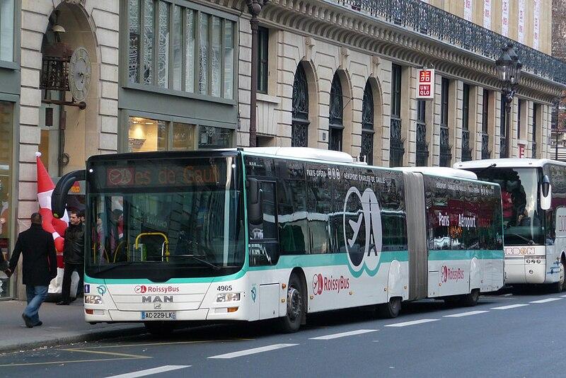 ônibus aeroporto Paris