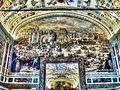 Rom - Vatikanische Museen, Großer Saal der Bibliothek, Salone Sistino (8260274983).jpg