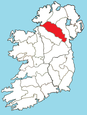 Roman Catholic Diocese of Clogher - Image: Roman Catholic Diocese of Clogher map