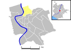 Campo Marzio - Map of the rione