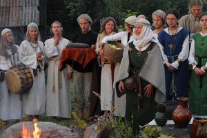 Baltic neopaganism - A Romuvan ritual ceremony