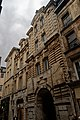 Rouen - Rue du Gros-Horloge - View NW on Left Part of Former l'Hôtel de Ville 1607 by Jacques Gabriel, inspired on Florentine Style.jpg