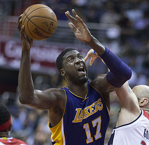 Roy Hibbert - Hibbert with the Lakers in December 2015