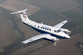 Beechcraft Super King Air - Image: Royal Air Force King Air B200 Training Aircraft MOD 45153010