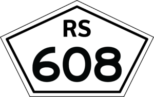 BR-293 - Image: Rs 608 shield