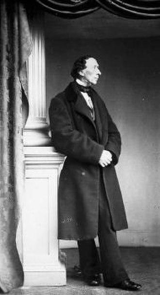 Rudolph Striegler - Rudolph Striegler: carte-de-visite photograph of Hans Christian Andersen (1861)