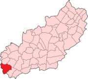 Rushcliffe Parish map Sutton Bonington
