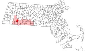 Russell, Massachusetts - Image: Russell ma highlight