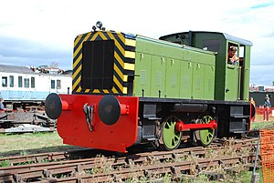 Electric Railway Museum, Warwickshire - Image: Ruston & Hornsby 268881 (6243667561)