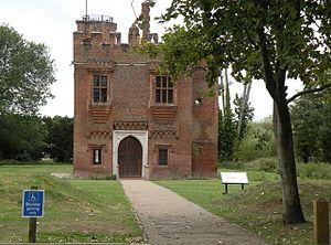 Rye House, Hertfordshire - Image: Rye House Gatehouse geograph.org.uk 1482115