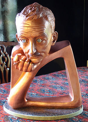 Seán Ó Riada - Séan Ó Riada in Copper Sculpture