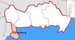 sølvesborg sverige kart Sölvesborgs kommun – Wikipedia sølvesborg sverige kart