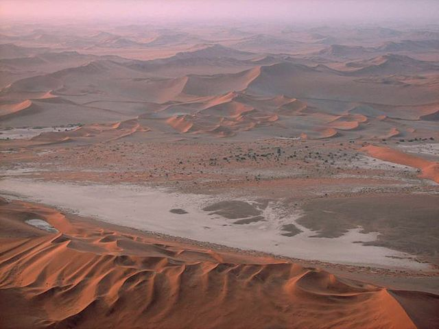 Namibia has some of the most diverse landscapes in Africa, including the Namib Desert.