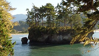Salt Creek Recreation Area - Image: SALTCREEKSEASTACK1
