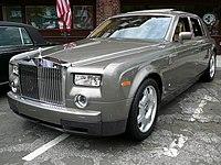 Rolls-Royce Phantom (BMW), an ultra-luxury automobile.