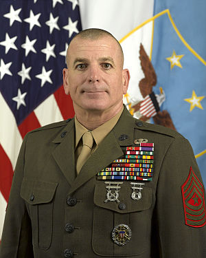 Senior Enlisted Advisor to the Chairman - Sergeant Major Bryan B. Battaglia, USMC, 2nd Senior Enlisted Advisor to the Chairman (October 1, 2011 – December 11, 2015).