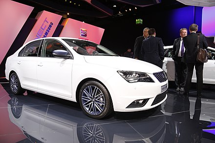 Seat toledo wikiwand a white seat toledo connect edition at the frankfurt motor show publicscrutiny Image collections