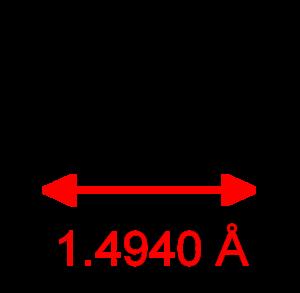 Nitrogen monosulfide - Image: SN CRC IR dimensions 2D Lewis