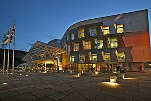 2nd Scottish Parliament - The Scottish Parliament Building opened during this term