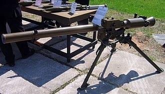 SPG-9 - A Russian SPG-9M