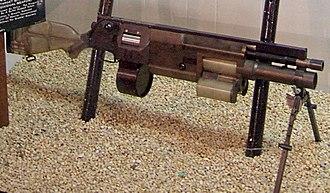 Needlegun - Image: SPIW at the National Firearms Museum