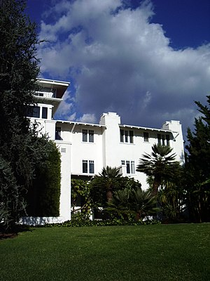 Self-Realization Fellowship - Headquarters of SRF at Mt. Washington at 3880 San Rafael Ave., Los Angeles, CA