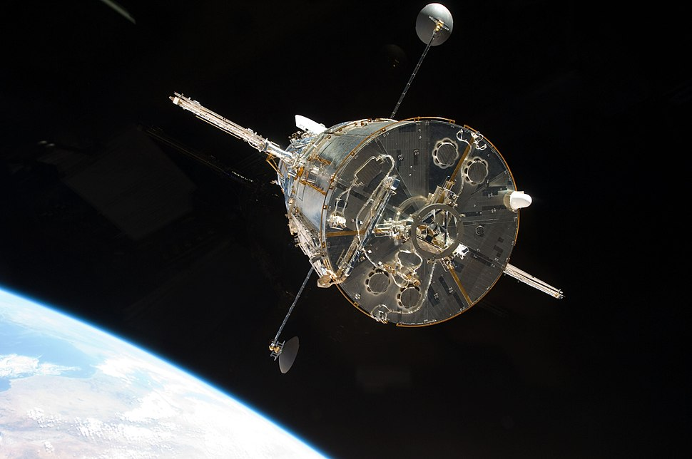 STS-125 departing the Hubble Space Telescope