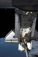 STS 134 Endeavour Docked At The ISS