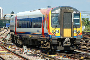 South West Trains - 444001 at Clapham Junction station