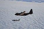 Saab 105OE and Hercules in formation flight.jpg