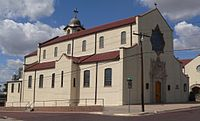 Sacred Heart Cathedral (Dodge City) from SE 2.JPG