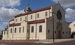Roman Catholic Diocese of Dodge City - Sacred Heart Cathedral, former seat of the Diocese of Dodge City