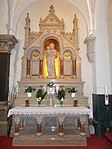 Sacred Heart Church. Altar. - Budapest District VIII.JPG