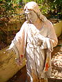 Sacred Heart of Jesus statue 2.JPG