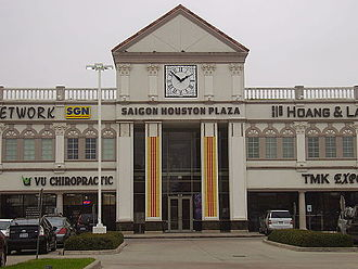 History of Vietnamese Americans in Houston - Saigon Plaza in the new Chinatown