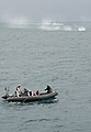 Sailors from USS Sampson conduct search and recovery operations to locate missing AirAsia Flight QZ8501. (15596845863).jpg