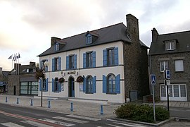 The town hall of Saint-Benoît-des-Ondes