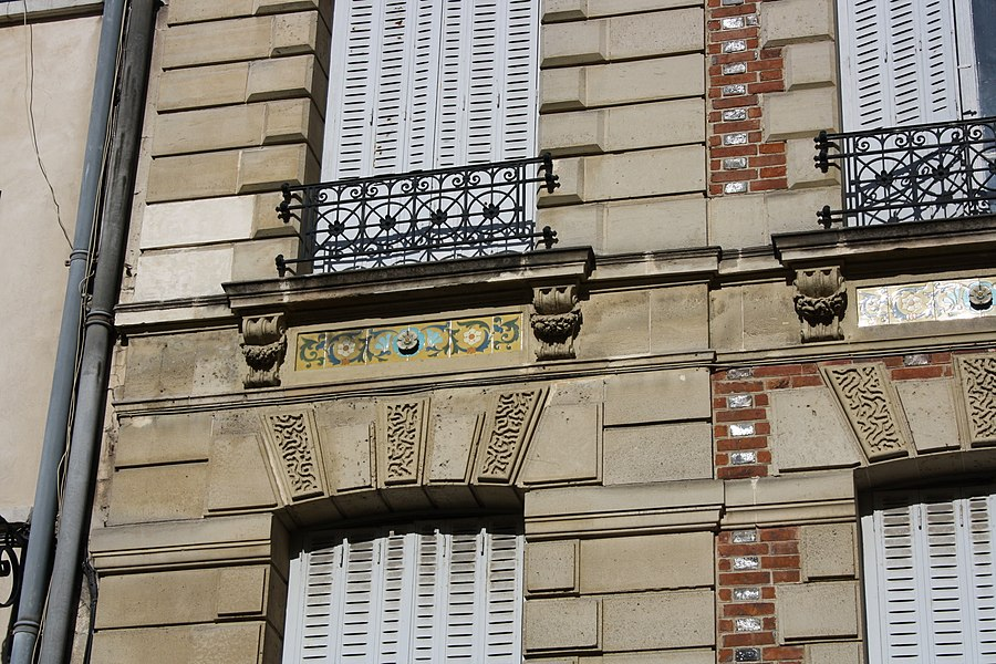 16 Poissy street in Saint-Germain-en-Laye, France.