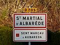 Saint-Martial-d'Albarède panneau.jpg