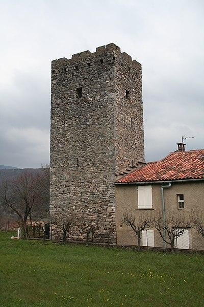 Saint-Pons-de-Thomières (Hérault)- Tour de la Gascagne.
