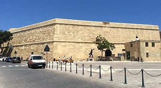 Saint James Cavalier - Image: Saint James Cavalier, Valletta