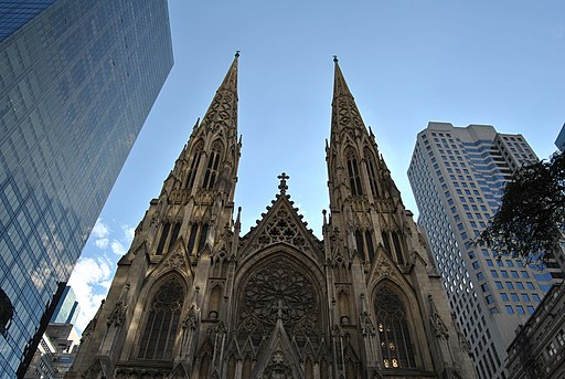 Saint Patricks Cathedral in New York - NYC - USA - panoramio