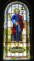 Saint Paul the Apostle Church (Westerville, Ohio) - stained glass, arcade, Saint James the Greater.jpg