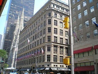 Saks Fifth Avenue - Flagship store in Manhattan, New York