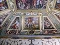 Sala di cosimo il vecchio, soffitto, afferschi di vasari e marco marchetti 03.JPG