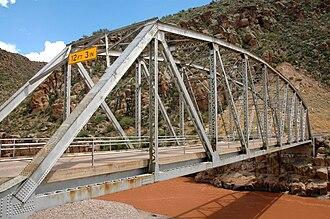 Arizona State Route 288 - Image: Salt river bridge az state route 288
