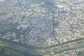 Salt Lake City with Kestopur Canal - Aerial View - Kolkata 2016-08-04 5676.JPG