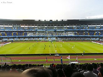 Salt Lake Stadium - Football match during 2017 FIFA U-17 World Cup